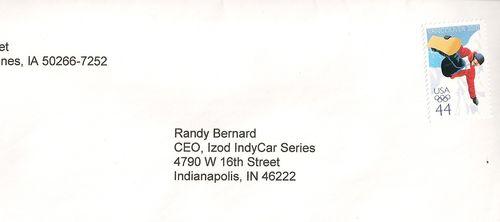 Bernard letter