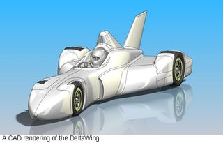 DeltaWing CAD drawing