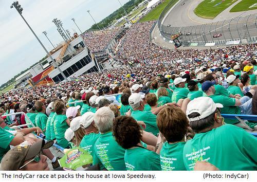 Iowa crowd