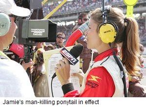 Daytona Dog Track >> pressdog.com: Jamie Little Swings the Man-Killing Ponytail in Pursuit of Her Dream