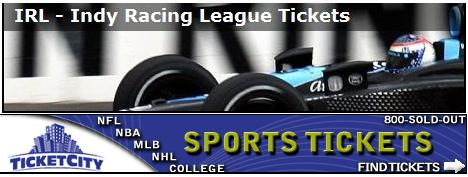 IndyCar Tickets from TicketCity.com